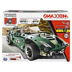 Erector by Meccano, 5 in 1 Roadster Pull Back Car Building K