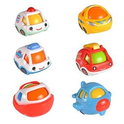 Shake Rattle And Roll Cartoon Baby Rattles Set for Toddlers