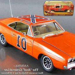 AUTO WORLD Silver Screen 1/18 '69 DODGE CHARGER GENERAL LEE
