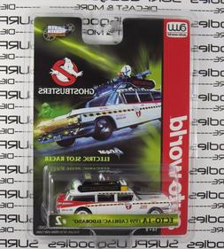 Auto World Silver Screen Ghostbusters 1959 Cadillac Eldorado