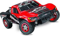 Traxxas Slash 4X4 4WD Electric Short Course Truck, Red, 1/10