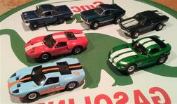 AUTO WORLD  SLOT CAR LOT    NEW / VIPER, MUSTANG, FORD GT, C
