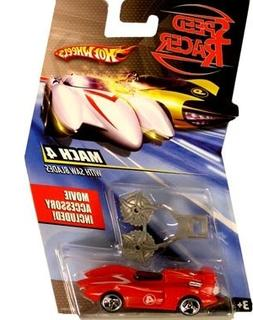 Speed Racer 1:64 Die Cast Hot Wheels Car Mach 4 with Saw Bla