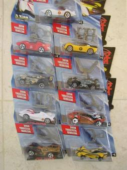 Speed Racer Hot Wheels 9 pack - Cars include the Mach 5, Rac
