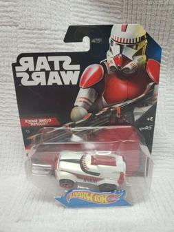 Hot Wheels Boys Star Wars Character Car Re-Deco Clone Troope