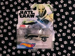 Hot Wheels Star Wars Character Cars GENERAL GRIEVOUS NEW FOR