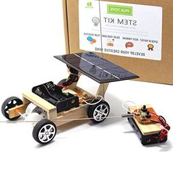 Pica Toys Wooden Solar and Wireless Remote Control Car Robot