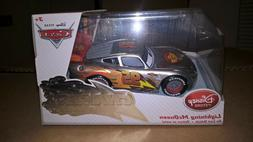 Disney Store Exclusive Cars Silver Lightning McQueen Chaser