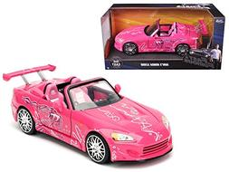 Suki's 2001 Honda S2000 Pink Fast & Furious Movie 1/24 Model