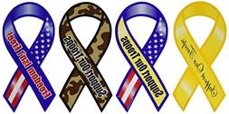 Novel Merk Support Our Troops Patriotic Military Car Magnets