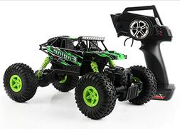 SZJJX RC Cars Rock Off-Road Vehicle Crawler Truck 2.4Ghz 4WD
