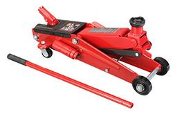 Torin Big Red Hydraulic Trolley Floor Jack: SUV / Extended H