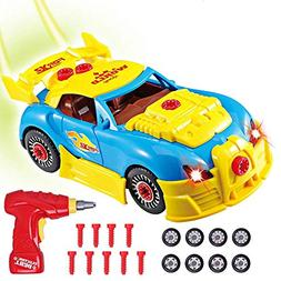 Rolytoy Take Apart Racing Car Kids Toys, Build Your Own Car