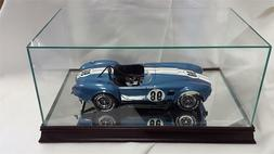 The 1:12 Scale Glass and Wood Display Case for Scale Model C