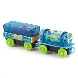 Thomas Friends Wood AQUARIUM CARS Train FULLY PAINTED GGH18