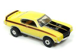 Auto World Thunderjet 1971 Buick GSX YELLOW SLOT CAR - 'FITS