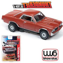 Auto World Thunderjet R25 1964 Pontiac GTO Red HO Scale Slot