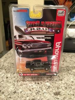 Auto World Thunderjet R25 1966 Chevy Nova SS Black HO Slot C