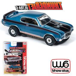Auto World Thunderjet R25 1972 Buick GSX Blue HO Scale Slot