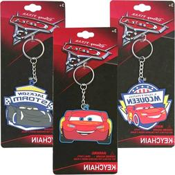 Total 3 ct Rubber Keychains for Birthday Gifts or Party Favo