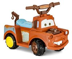 Cars Towmater 6 Volt Electric Ride on, Brown