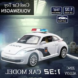 Toy Alloy Police Car  For Kid Cool Gifts Toy Alloy Diecast M