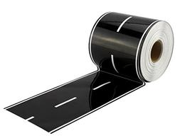Toy Car Road Tape ; Giant Deluxe Roll of Sticker Road Track