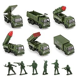Toy cars Pull Back Military Cars Playsets Toddler Toys Metal