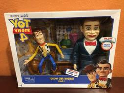 TOY STORY 4 BENSON AND WOODY 2-PACK FIGURES DISNEY PIXAR NEW