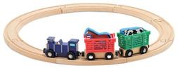 Melissa & Doug Toys - Farm Animal Train Set