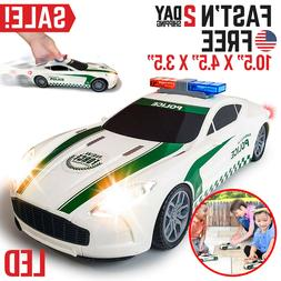 Toys For Boys Kids Children Police Car for 3 4 5 6 7 8 9 10