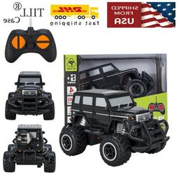 Toys for Boys Kids RC Mini Black Jeep Buggy Car With Remote