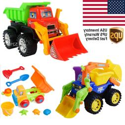 Toys for Kids Boy Outdoor Play Engineering Vehicle Truck Car
