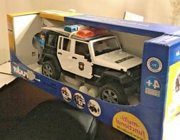 Bruder Toys Jeep Wrangler Unlimited Rubicon Police vehicle w