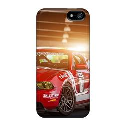 Fashion Tpu Case For Iphone 5/5s- Ford Mustang Muscle Car De