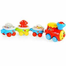 Mallya Train Set Toy-Musical and Lights Train Cars Best Gift