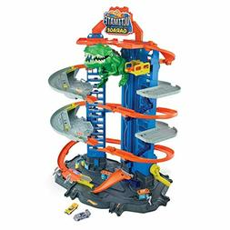 Hot Wheels Ultimate Garage City vs Robo Beasts - For More th