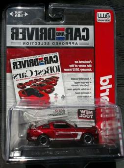 AUTO WORLD ULTRA RED CHASE 2012 FORD MUSTANG BOSS 302 CAR an