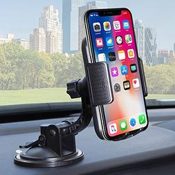 Bestrix Universal Dashboard & windshield Car Phone Mount Hol