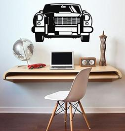 Vintage Car Vinyl Decal Vintage Car Wall Sticker Home Interi