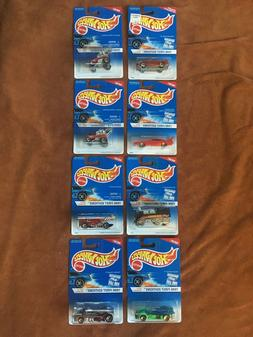 Vintage HOT WHEELS - LOT of 8 Cars - 1996 First Editions 1,