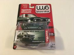 Auto World Vintage Muscle 1967 Ford Mustang GT - Green