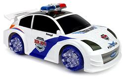VT Speed Police Nissan 350Z Battery Operated Kid's Bump and