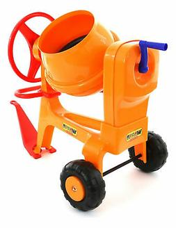 wader toys cement mixer with tow hitch