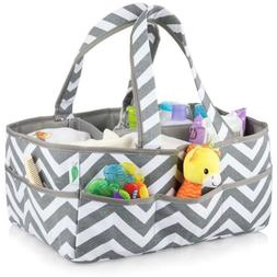 washable baby diaper caddy bag