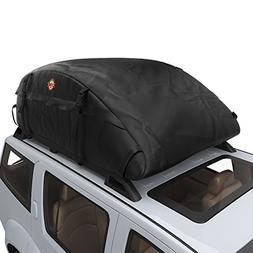 COOCHEER  Car Roof Carrier- Waterproof Universal Soft Roofto