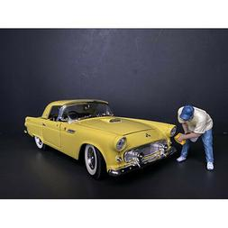"""""""WEEKEND CAR SHOW"""" FIGURINE VI FOR 1/18 SCALE MODELS BY AMER"""