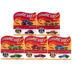Complete Set Hot Wheels 50th Anniversary Originals of 5 cars
