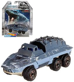 Mosasaurus Hot Wheels Jurassic World Diecast Character Car