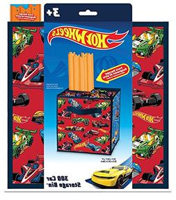 Neat-Oh! Hot Wheels Track Storage and car Storage - Holds up